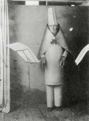 Hugo Ball de Marcel Janco 1916