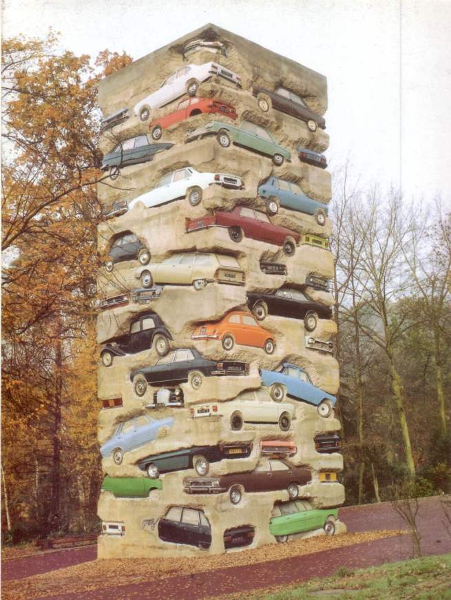 kunstarmand-pierre-fernandezlong-term-parking1982jouy-en-josas