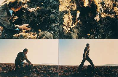 Gina Pane - Burying a Sunbeam